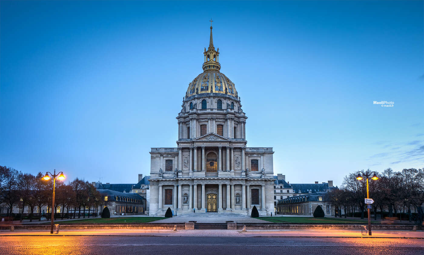 dôme des Invalides, Paris France