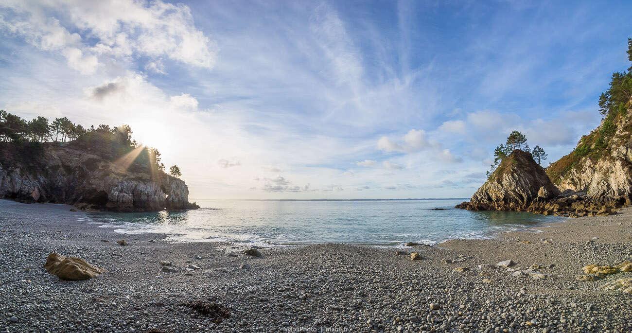Plage de la pointe Saint-Hernot, Île Vierge