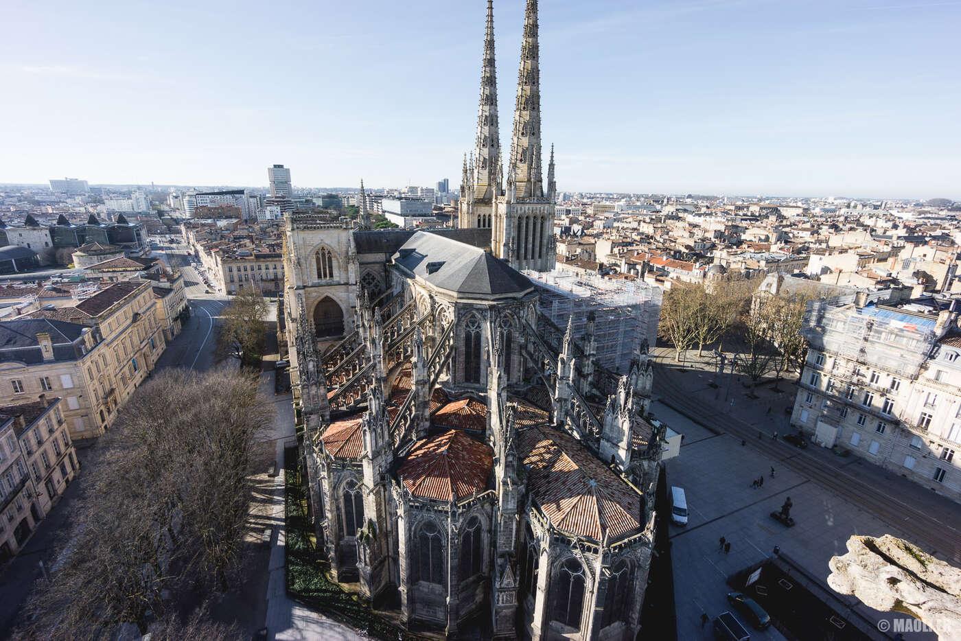 Tour Pey-Berland cathédrale Saint-André Bordeaux