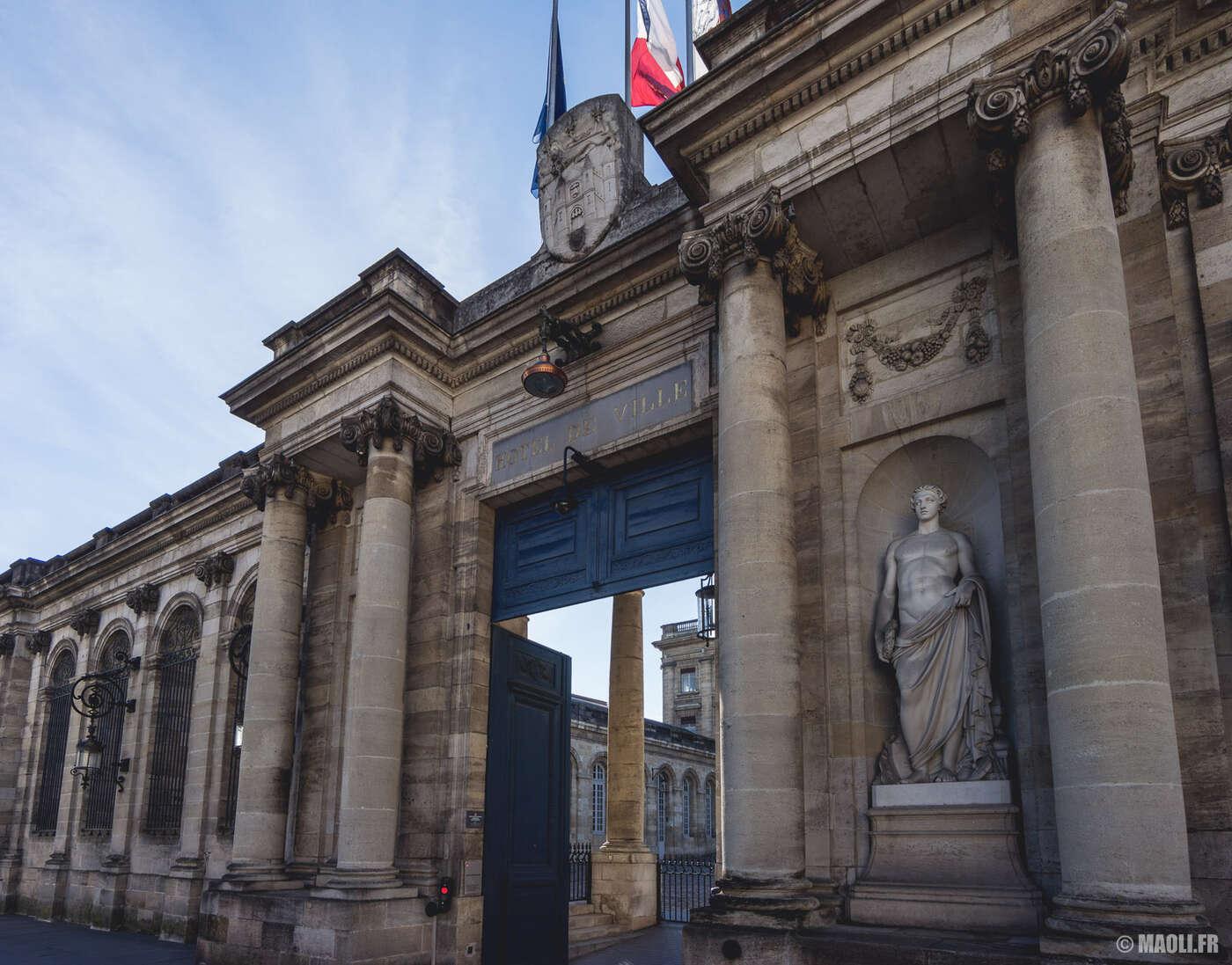 Palais Rohan mairie Bordeaux