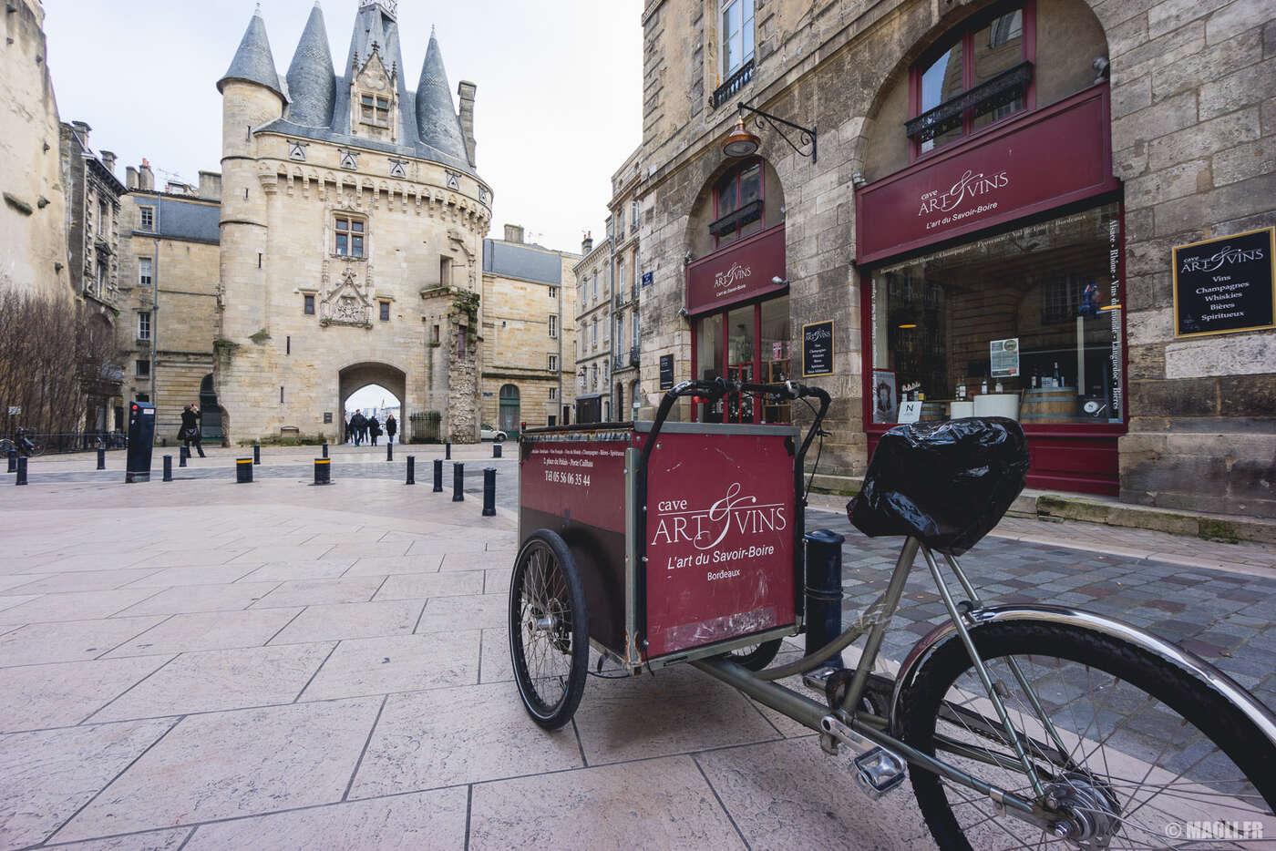 Livraison vin Bordeaux