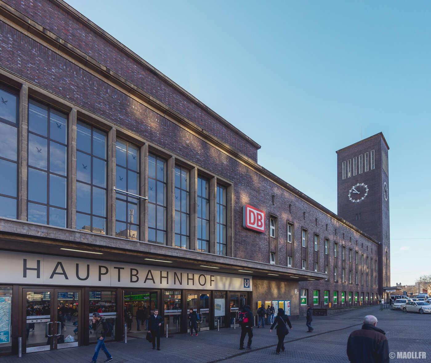 Düsseldorf gare train