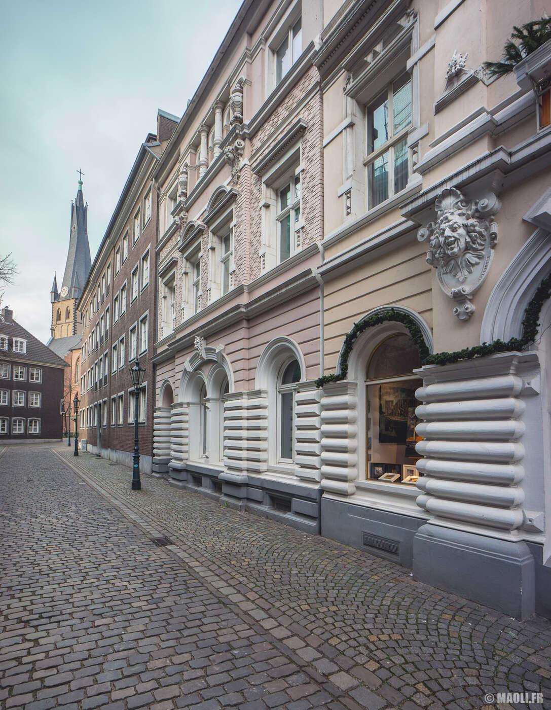Düsseldorf vieux quartiers