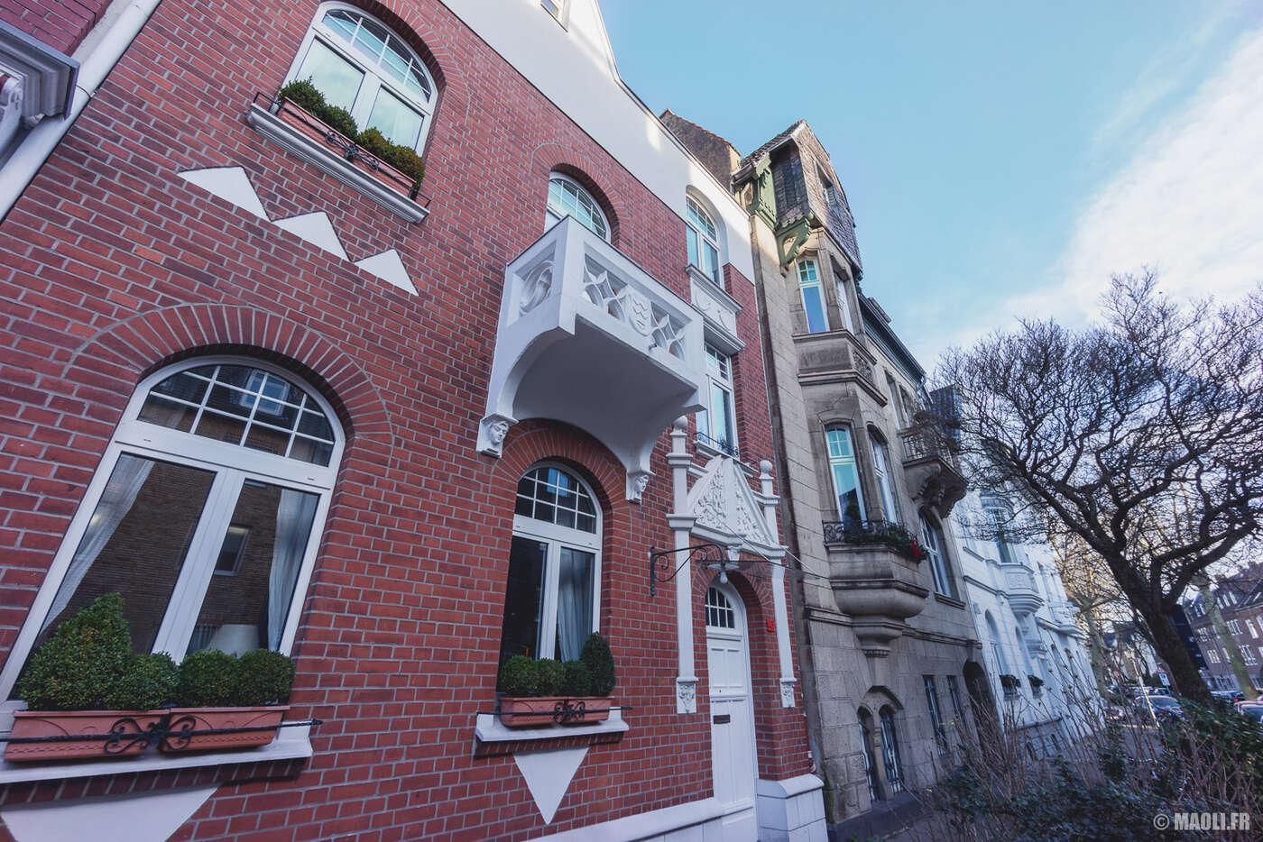Düsseldorf quartiers résidenciels
