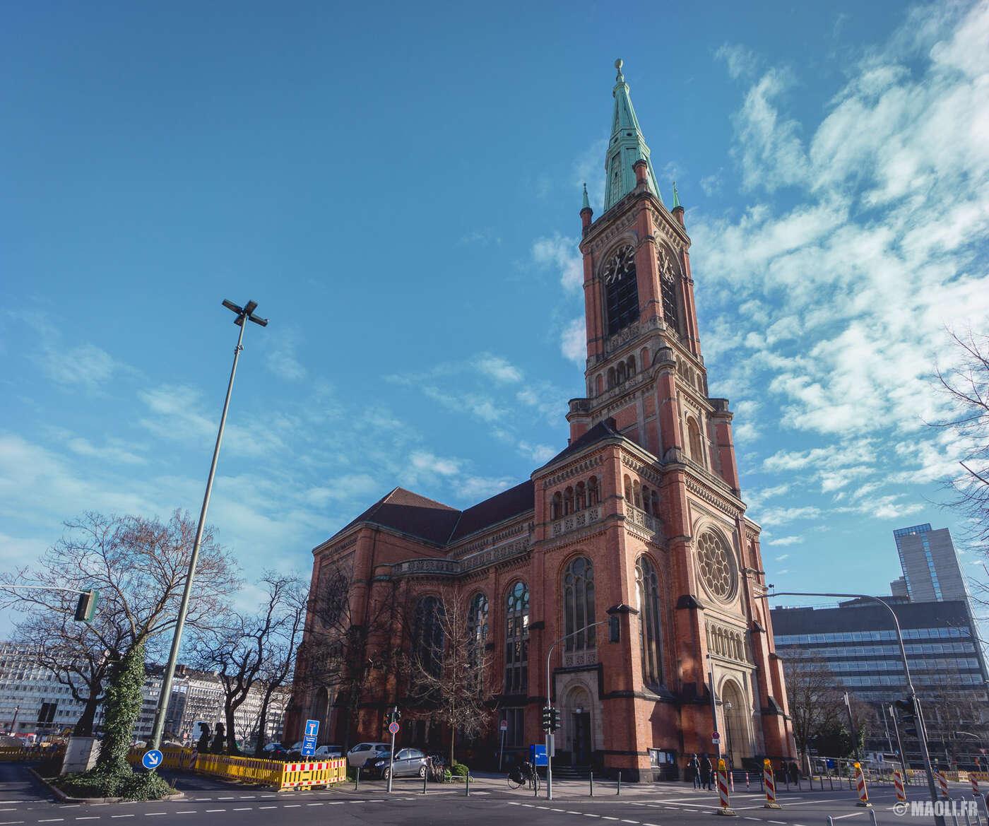Düsseldorf église Johannes