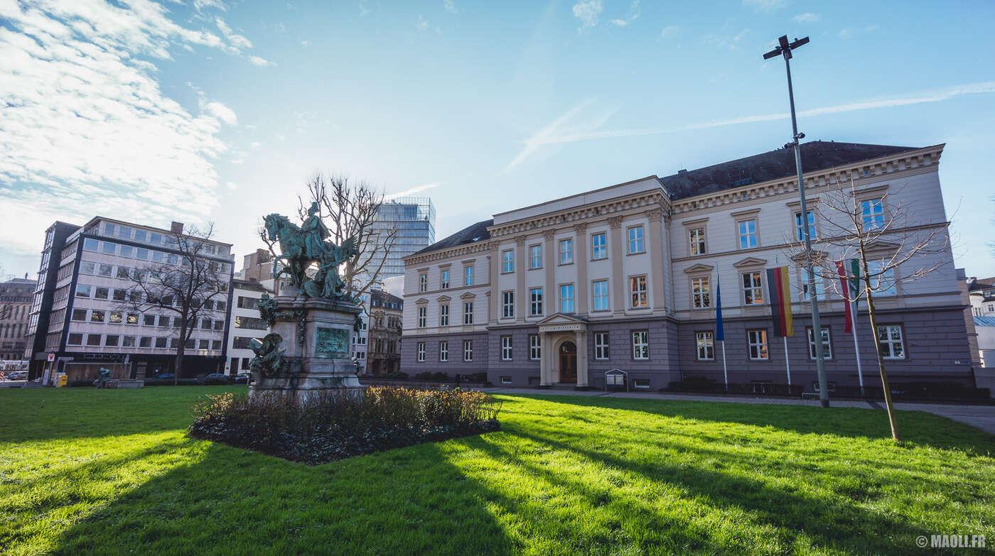 Düsseldorf ministère justice justizministerium