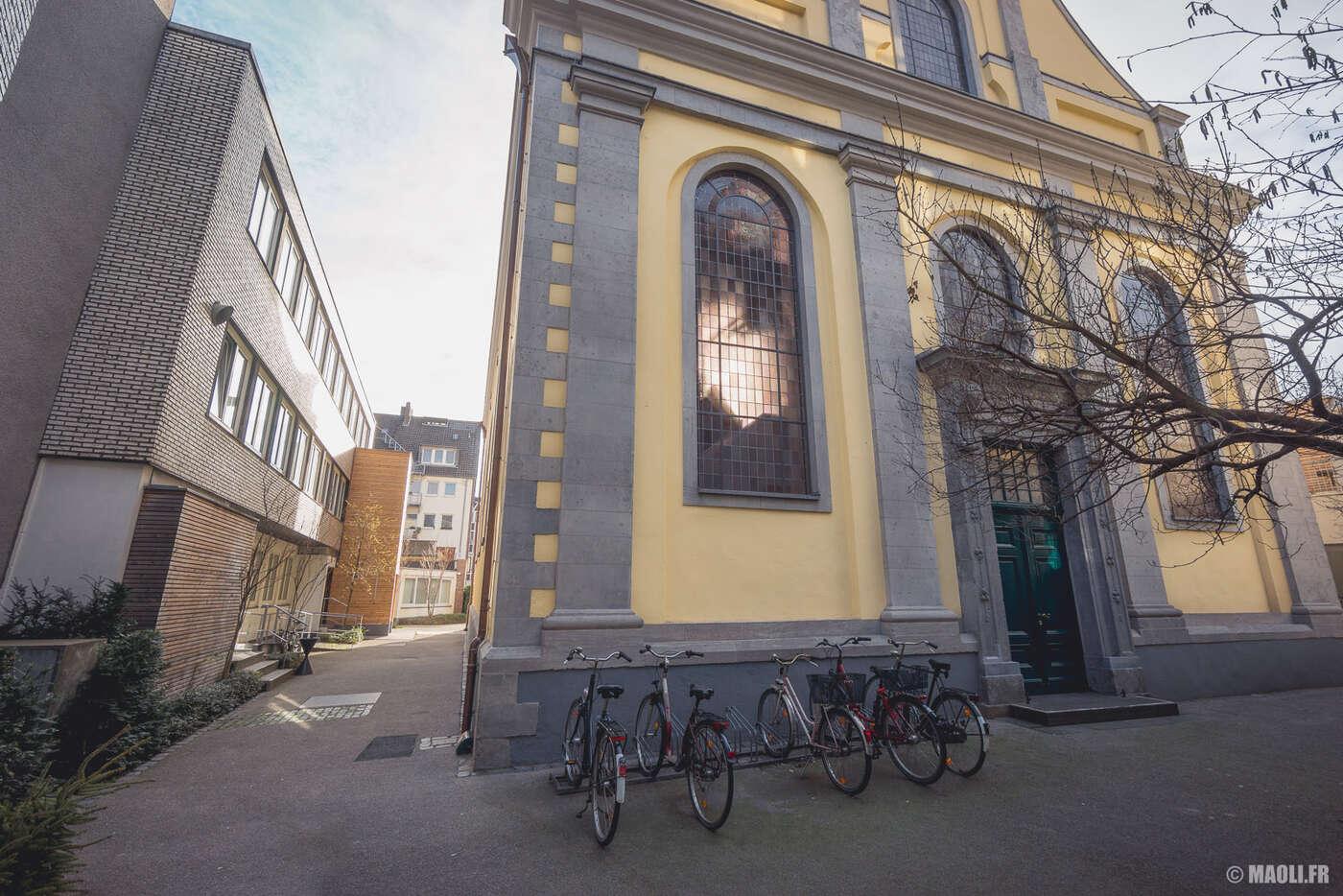 Düsseldorf église Neander