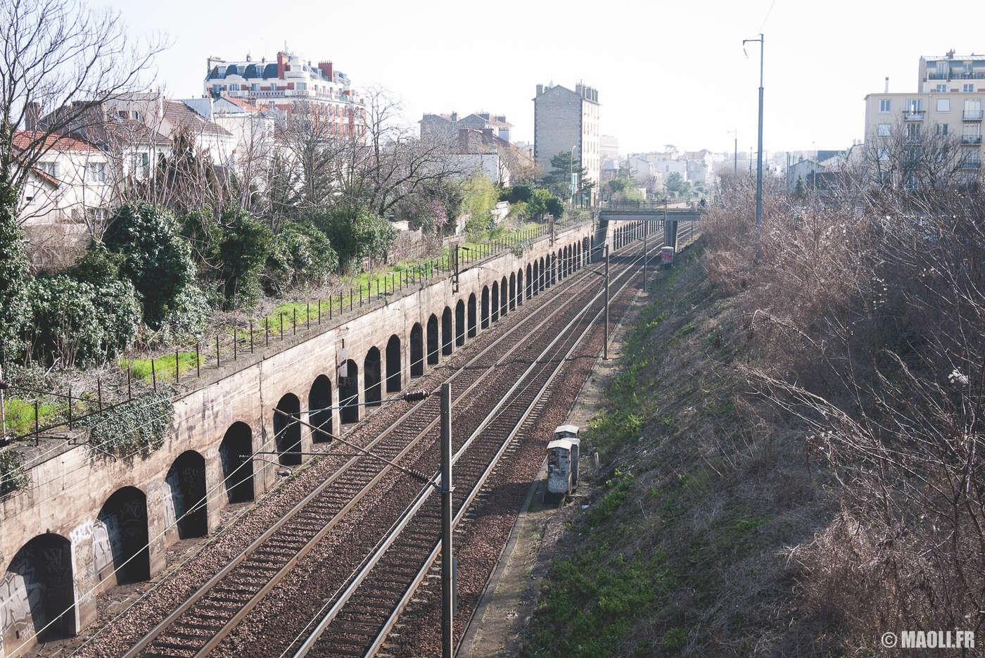 Chemins de fer à Colombes