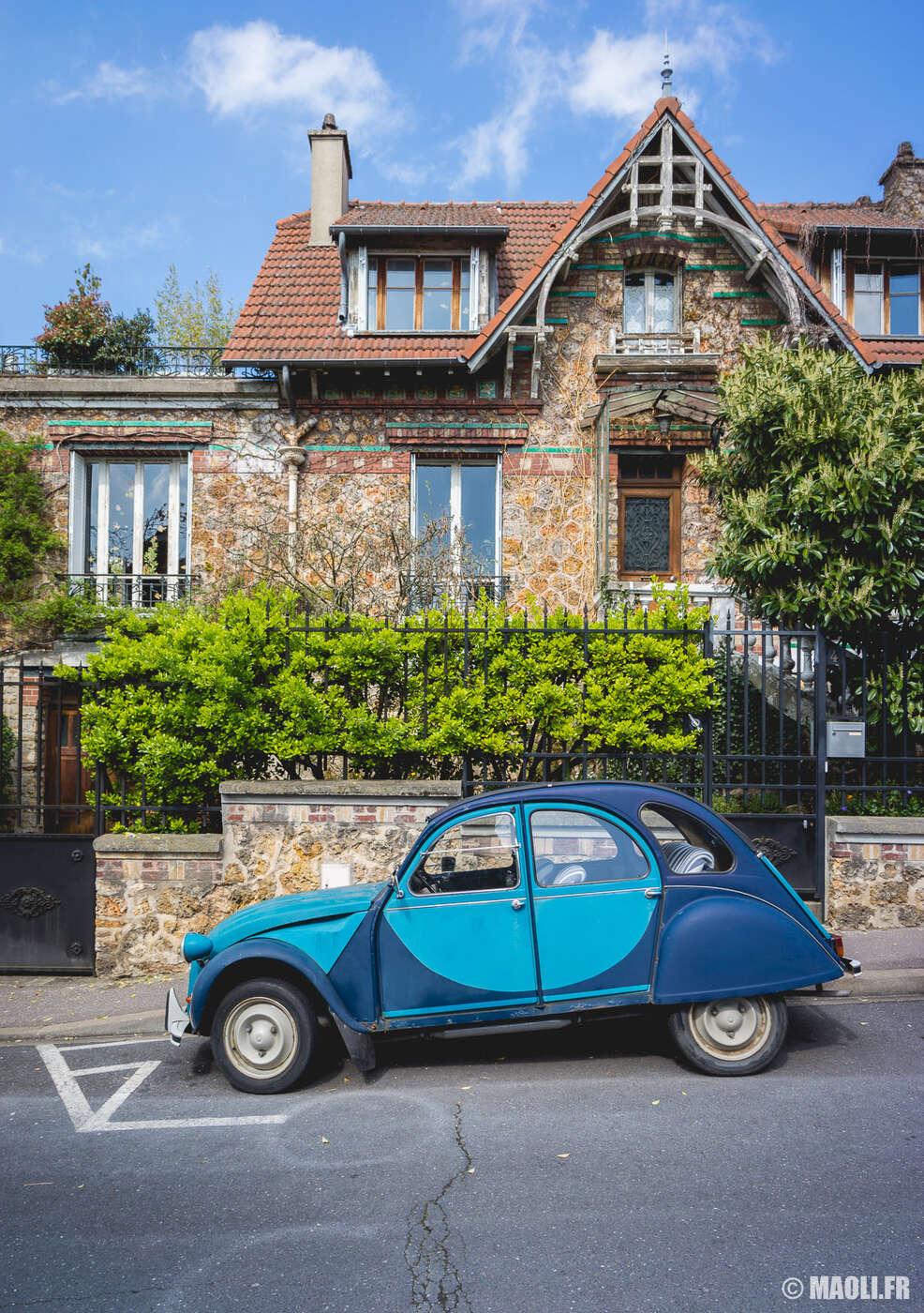 Maison en pierre meulières à Enghien-les-Bains