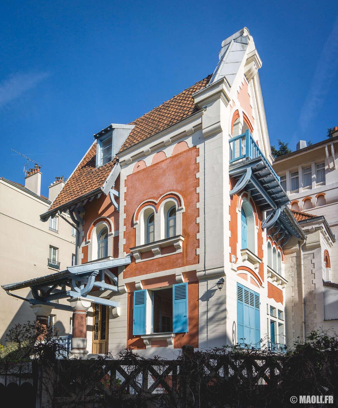 Rue Pilloy à Enghien-les-Bains