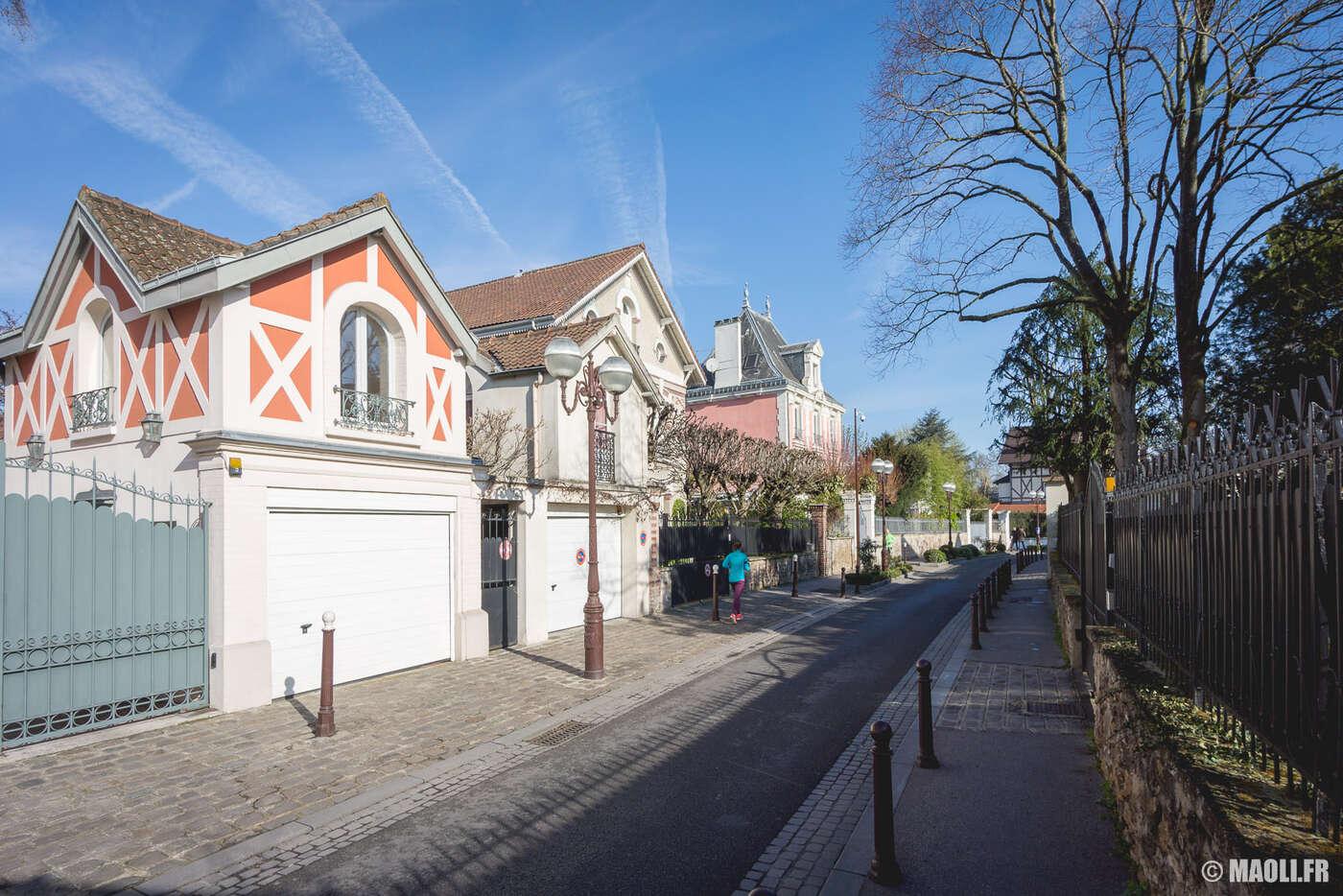 Avenue de Ceinture, à Enghien-les-Bains