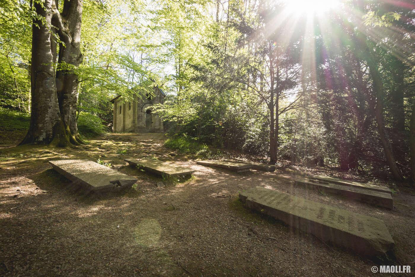 Bagnole-de-l'Orne cimetière forestier