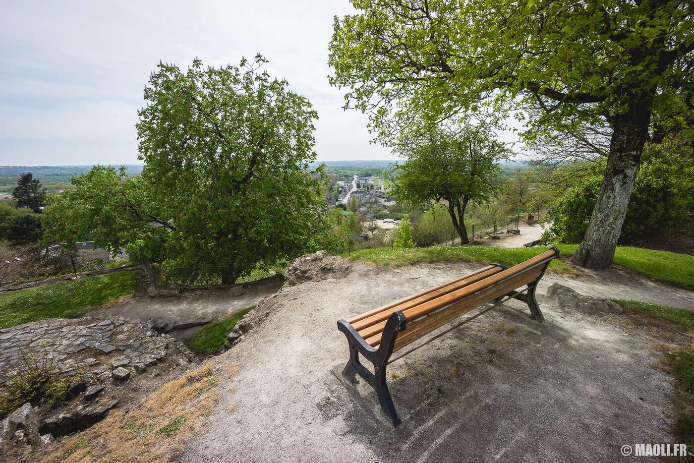 Parc du château de Domfront