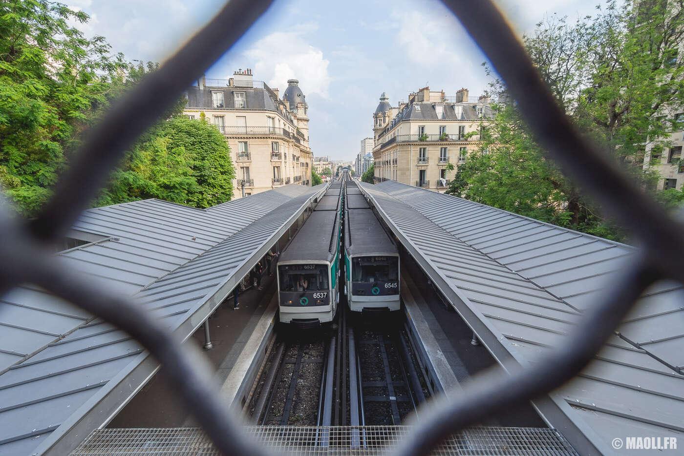 Station de métro de Passy