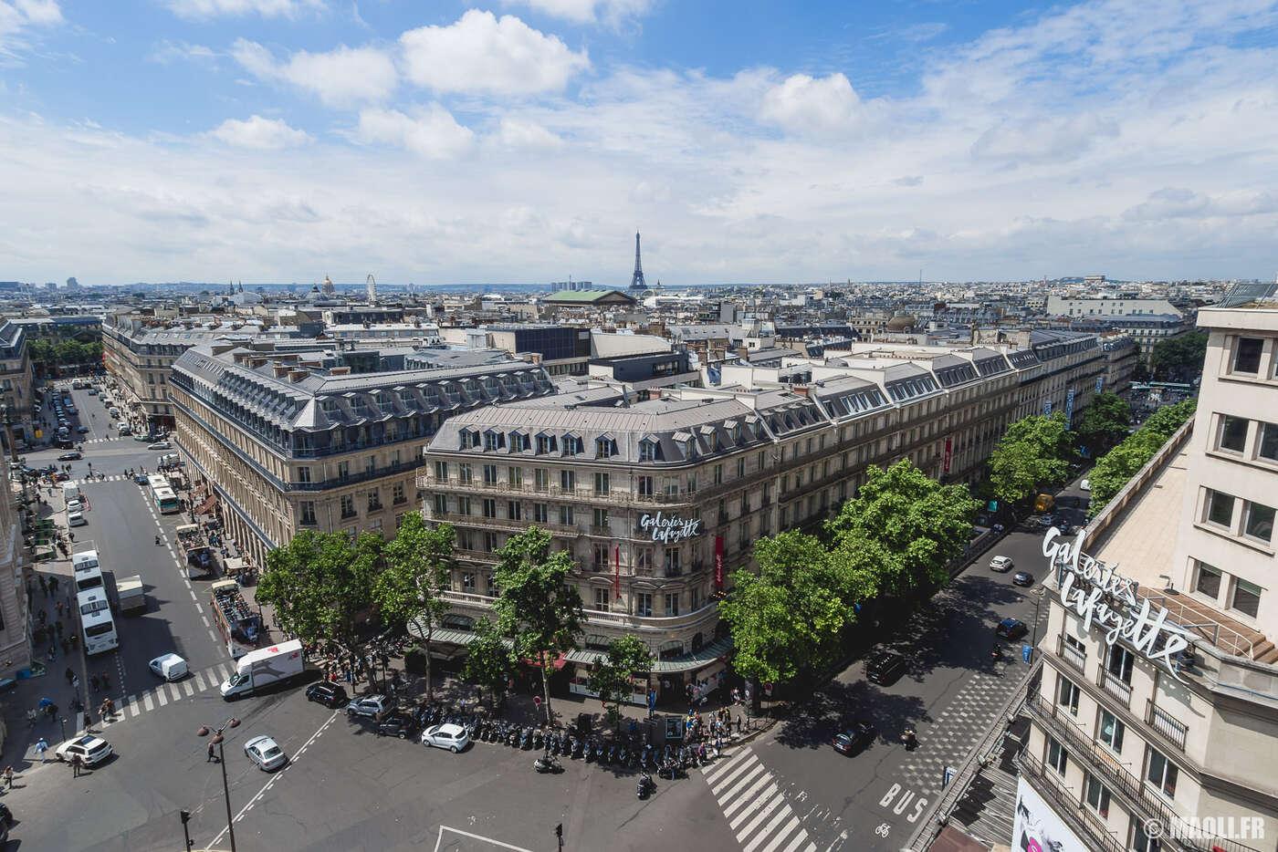Derrière l'Opéra Garnier