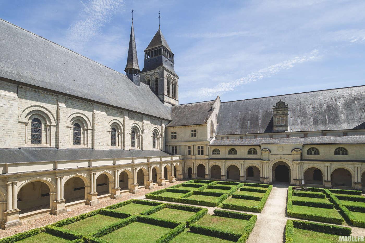 Cloître de l'Abbaye de Fontevraud