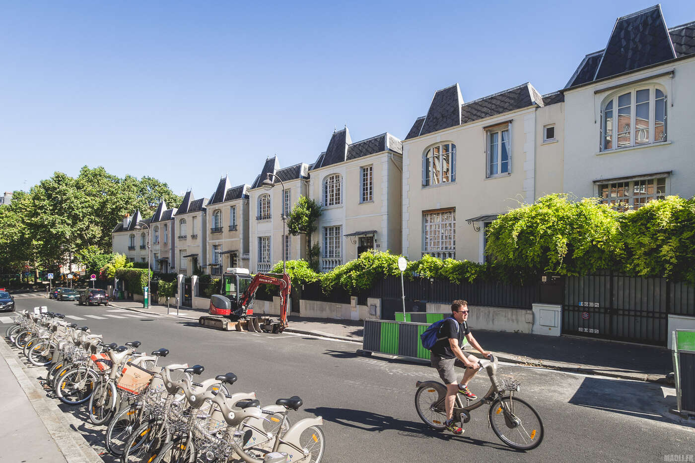 Cité des Peupliers, Rue Docteur Leray