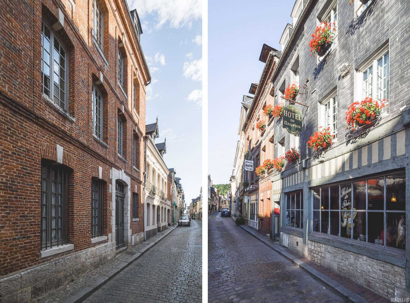 Vieux quartiers de Honfleur