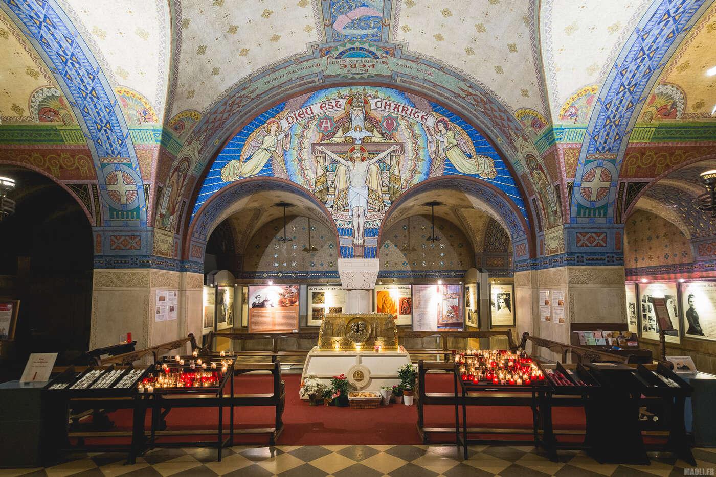 Crypte de la basilique de Lisieux