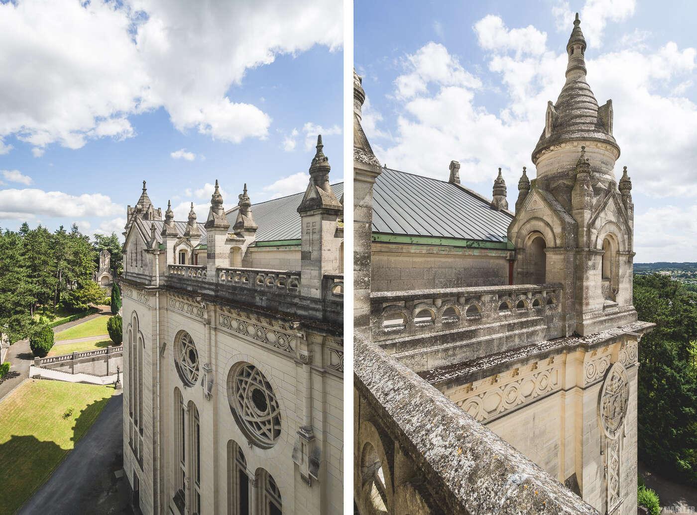 Murs de la Basilique Sainte-Thérèse de Lisieux