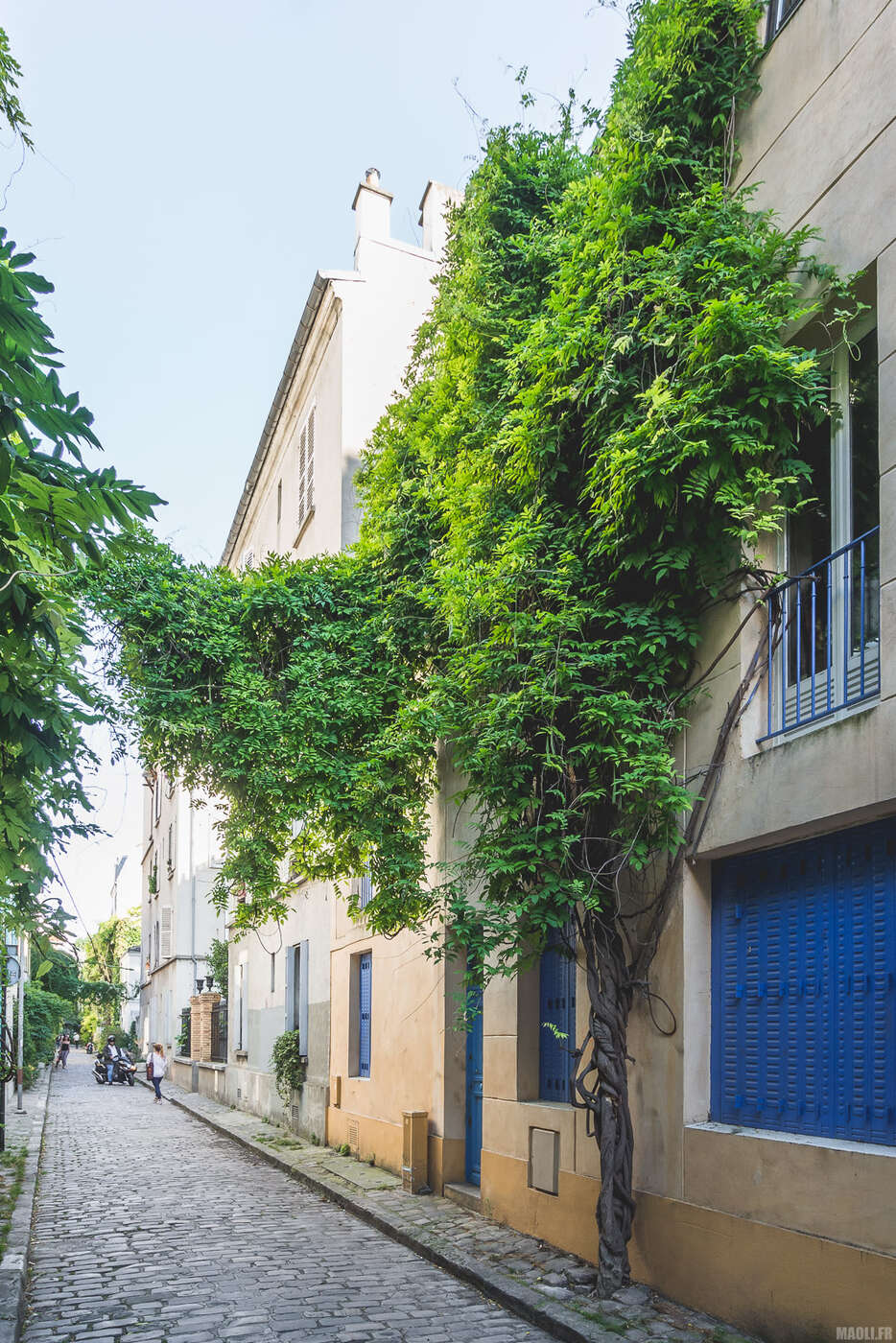 Rue des Thermopyles à Paris