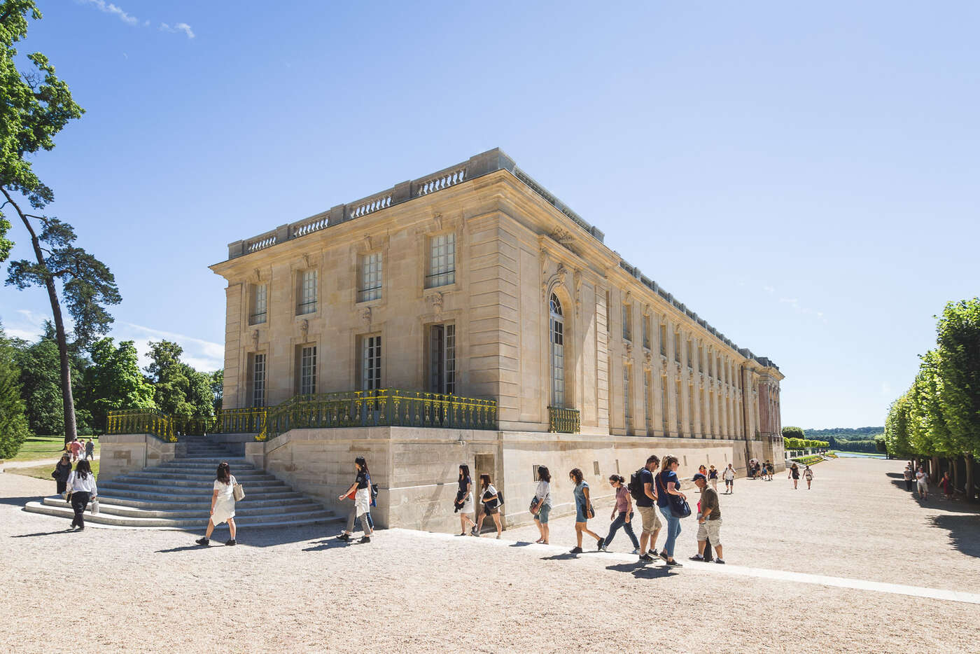 Grand Trianon, Jardin de Versailles