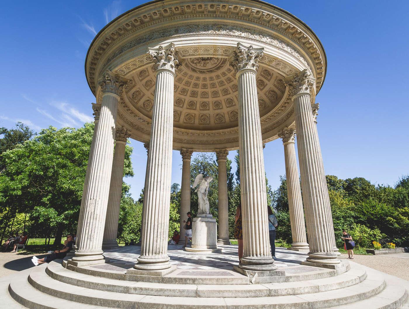 Trianon et le hameau de la reine french vadrouilleur for Jardin anglais du petit trianon