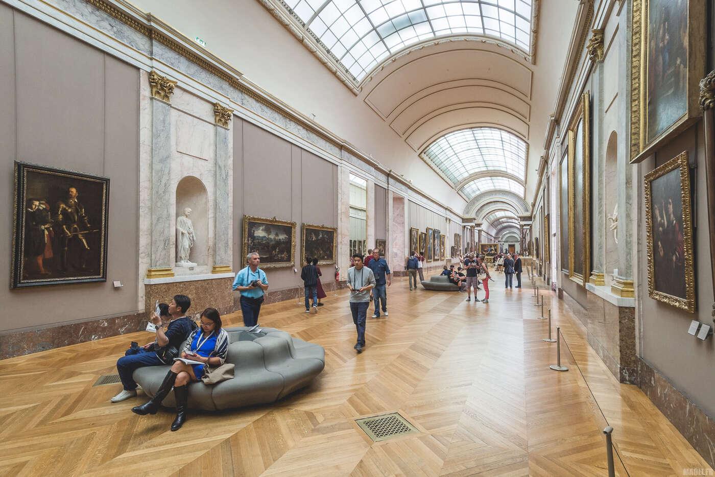 Galerie de peintures du Louvre