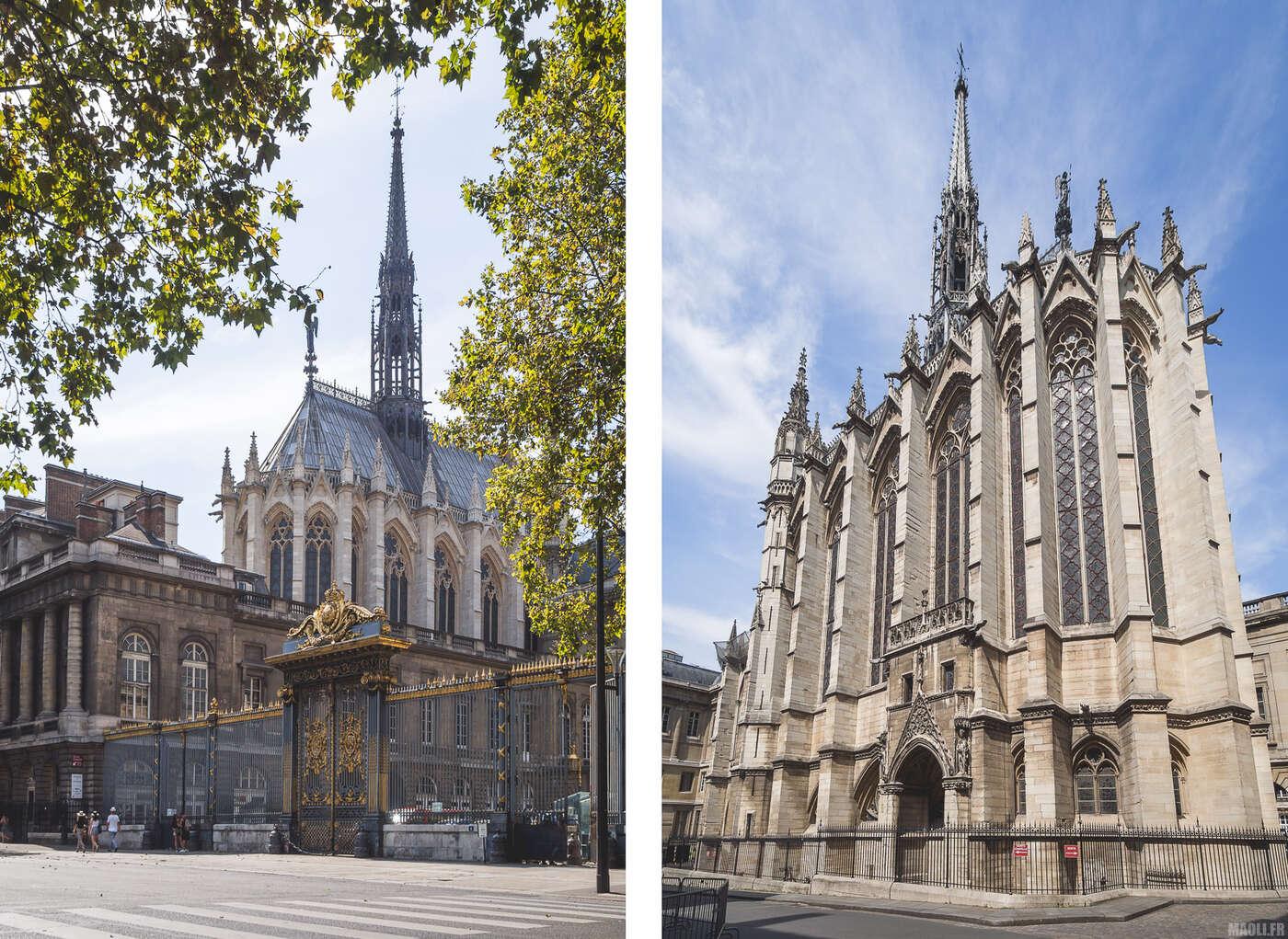 Sainte-Chapelle Paris - extérieurs