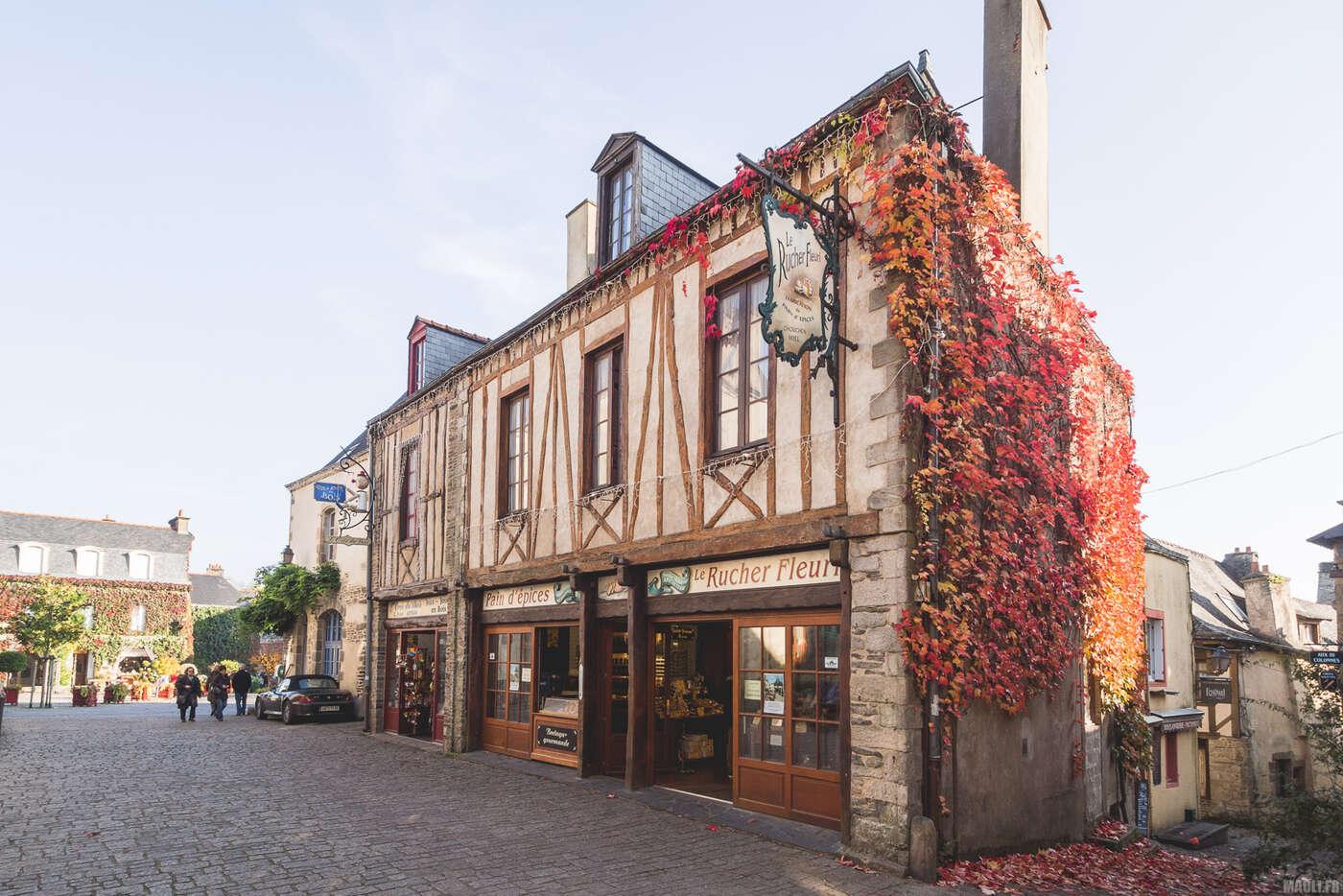 Rue Saint-Michel, Rochefort-en-Terre