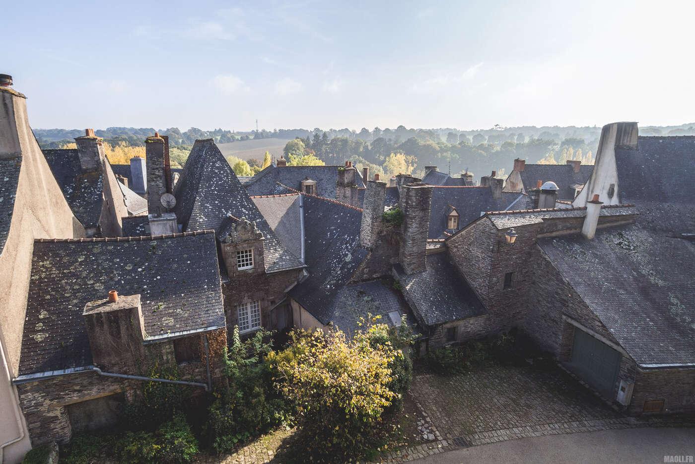 Toits de Rochefort-en-Terre