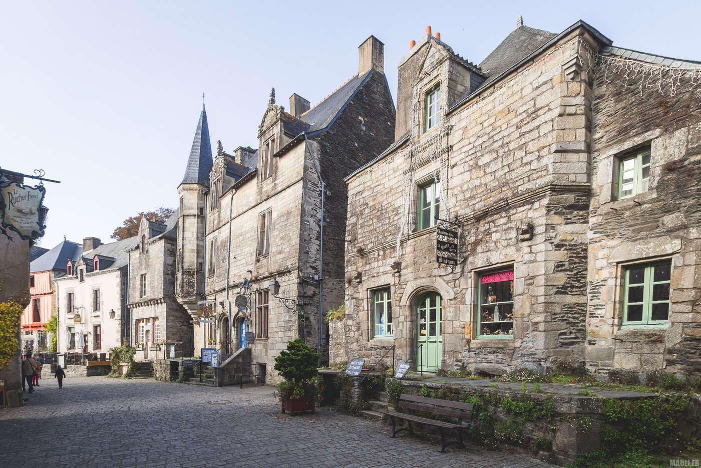 Rue des Scourtets, Rochefort-en-Terre