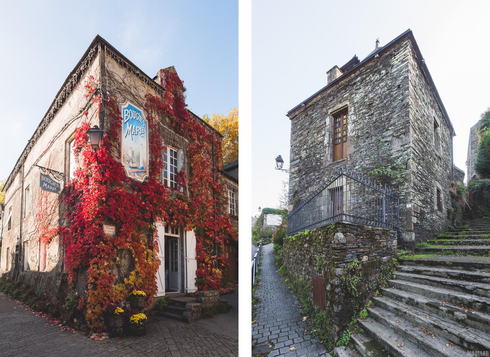 Maisons d'angles à Rochefort-en-Terre
