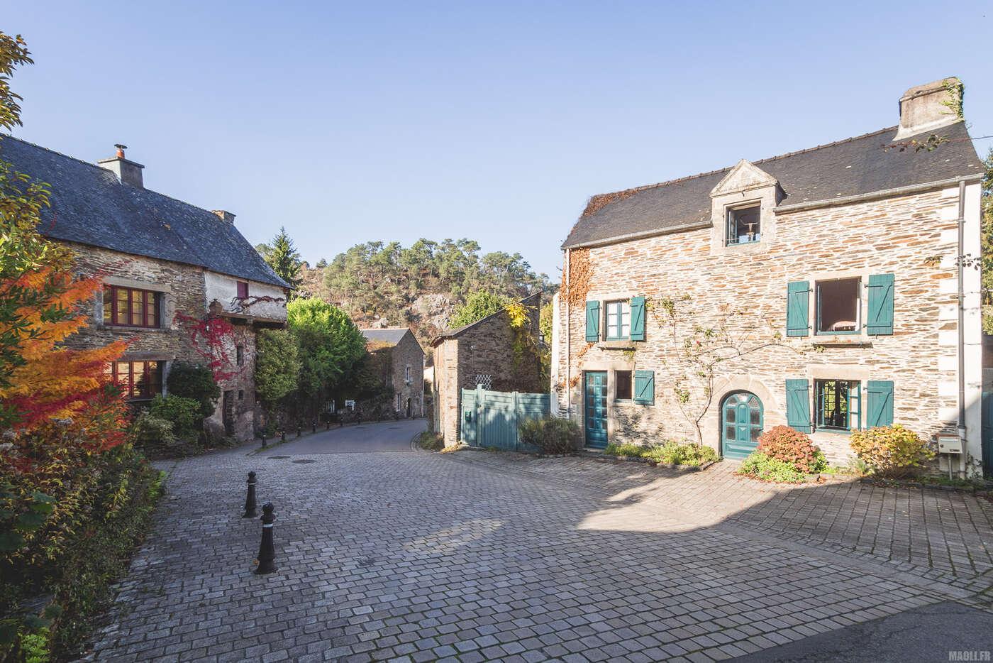 Rue du Vieux Bourg, Rochefort-en-Terre