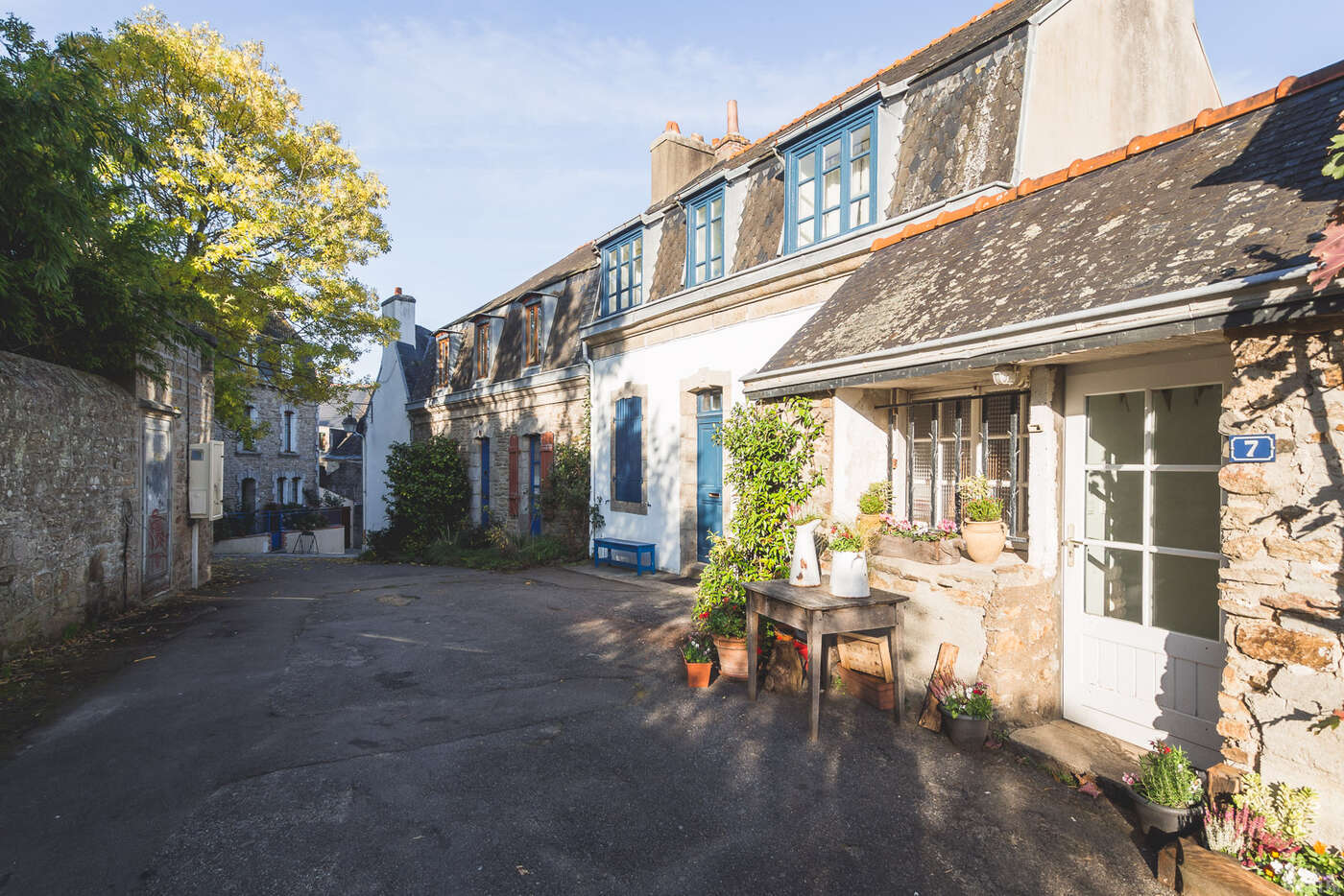 Rue de l'église, Concarneau
