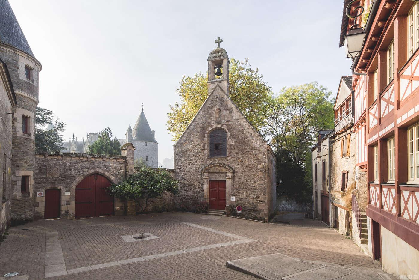 Entrée du château de Josselin