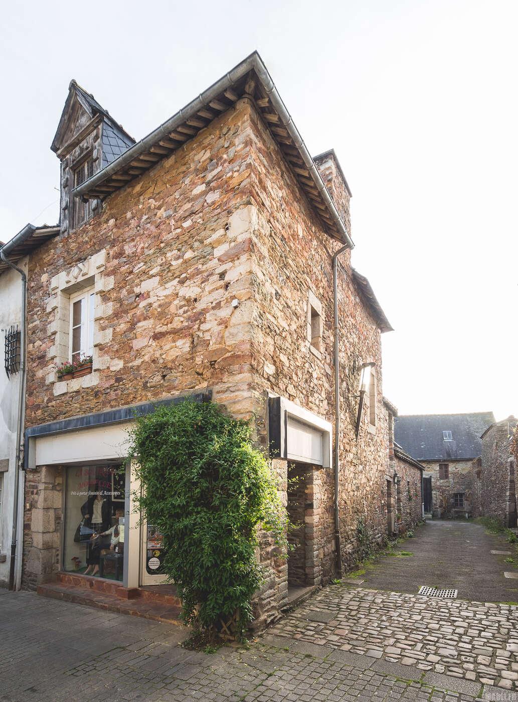 Ancien immeuble à Malestroit
