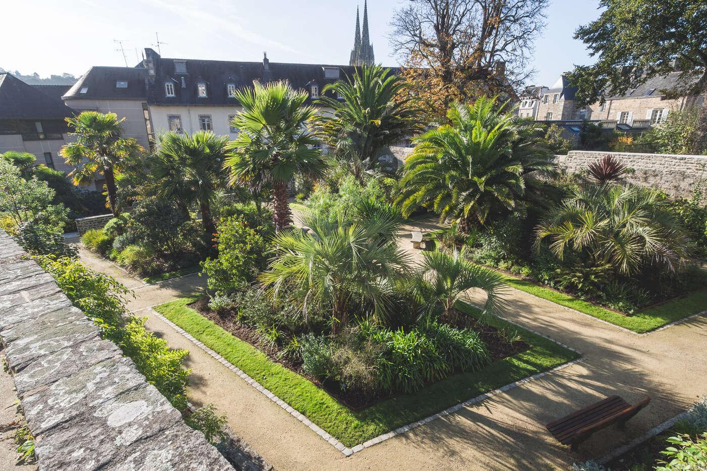 Jardin de la Retraite,Quimper