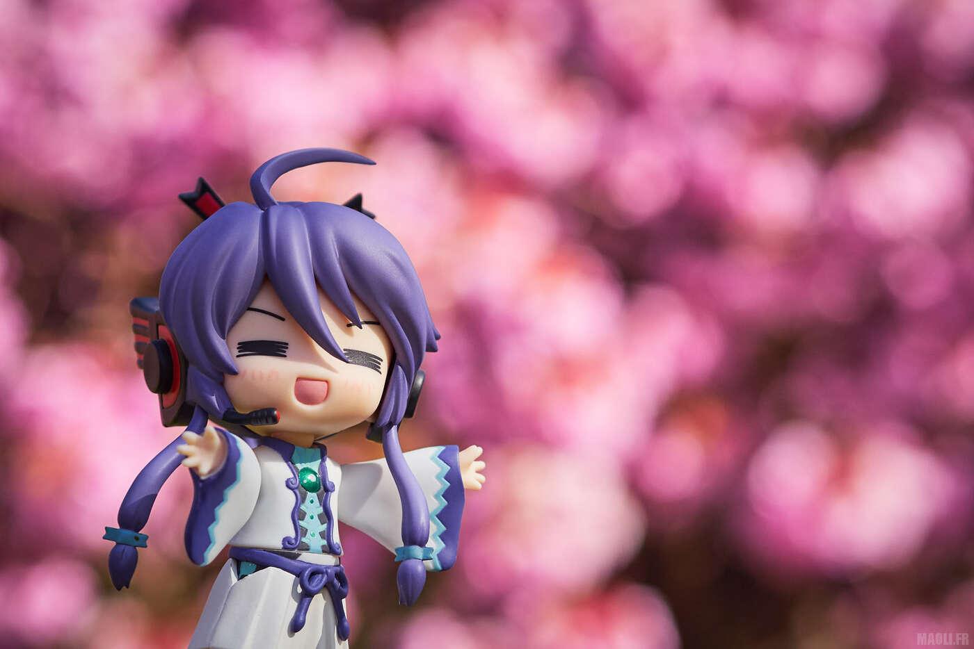 Hanami figurine !
