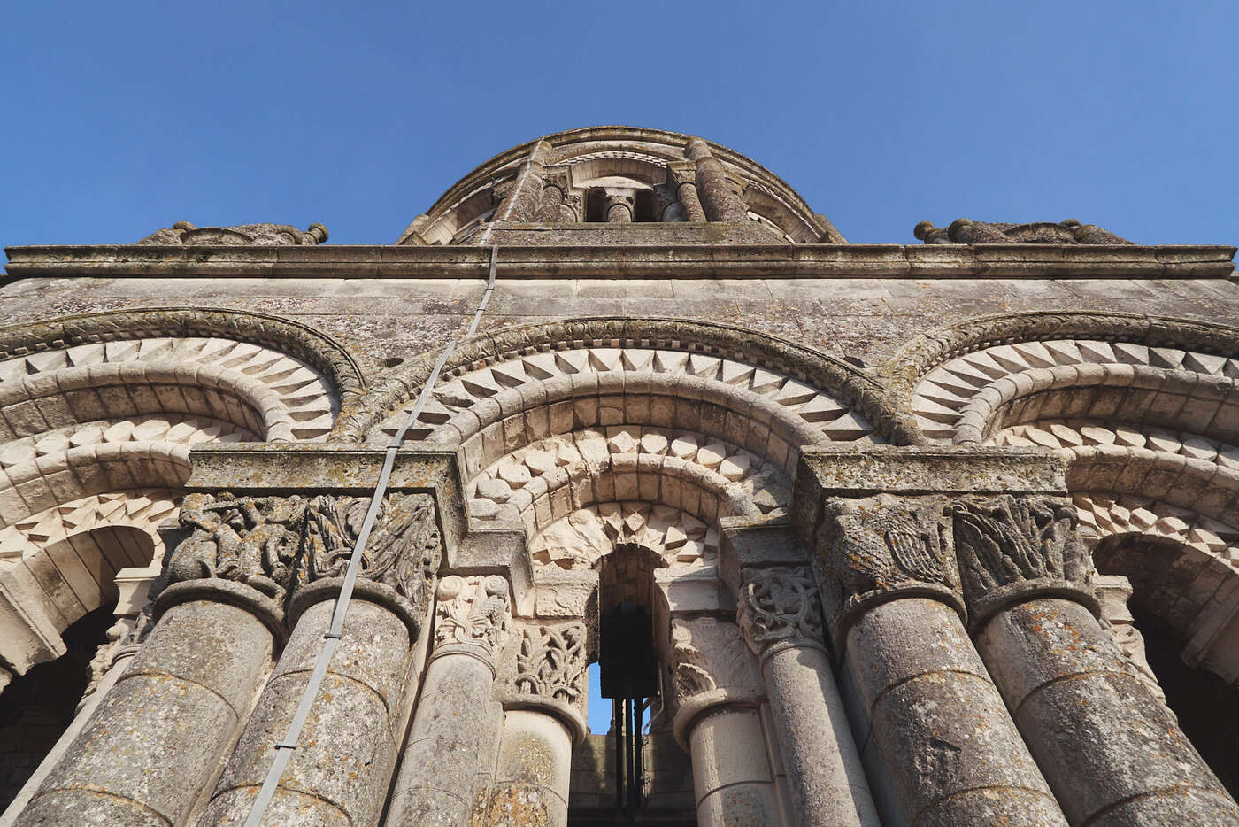 Clocher de l'abbaye aux Dames