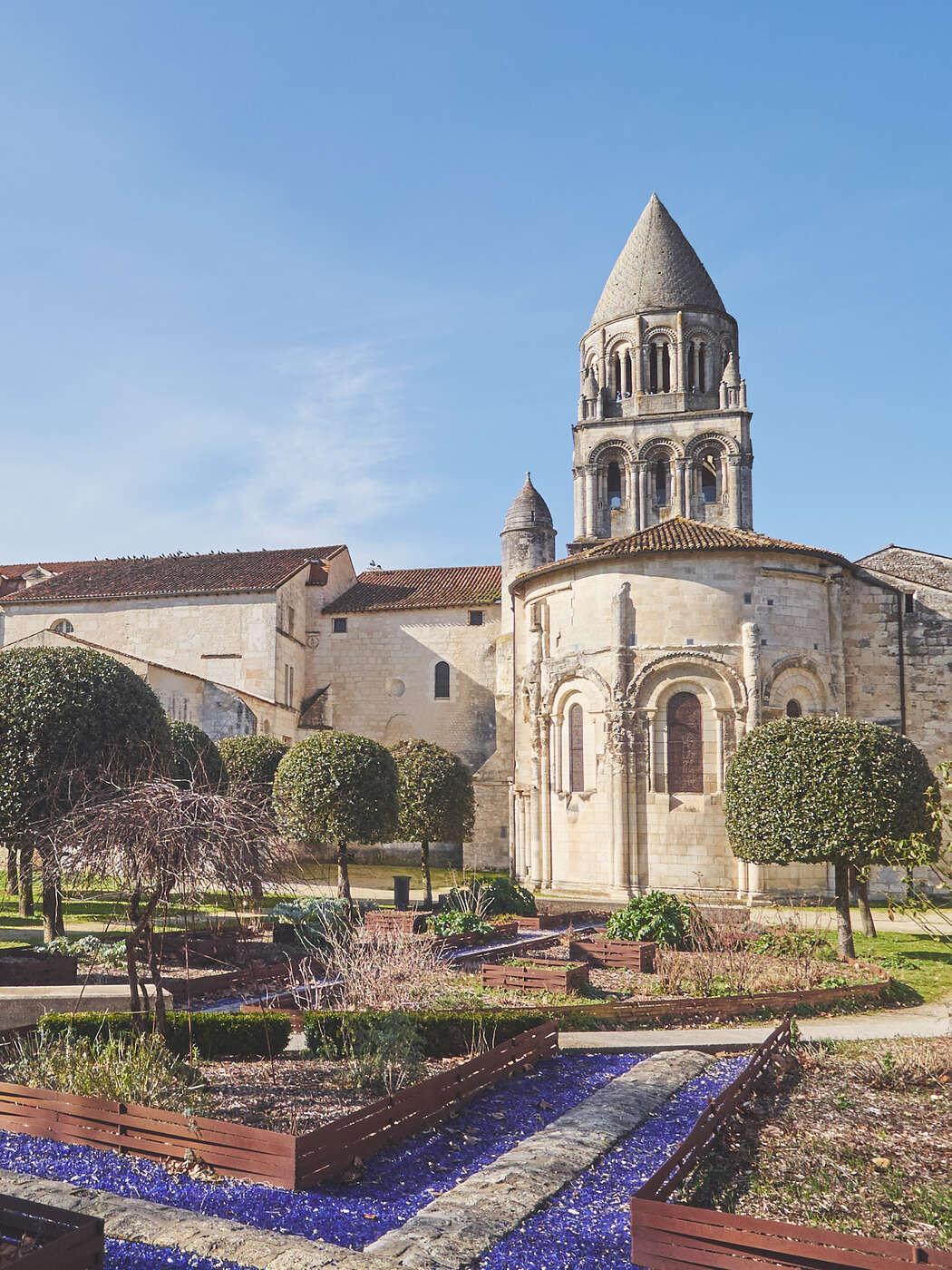 Jardin des moniales de l'abbaye aux Dames