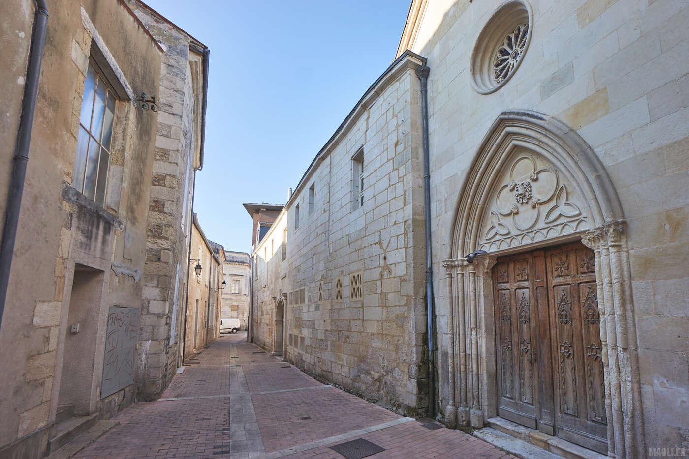 Rues piétonnes de Saintes