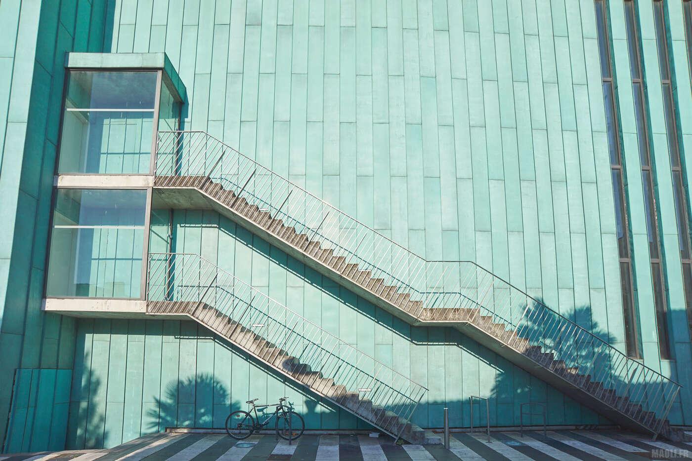 Escaliers du théâtre Gallia