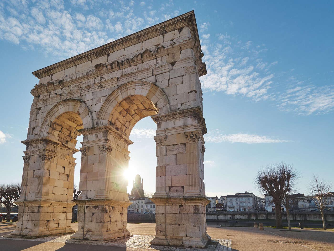 Arc de triomphe à Saintes
