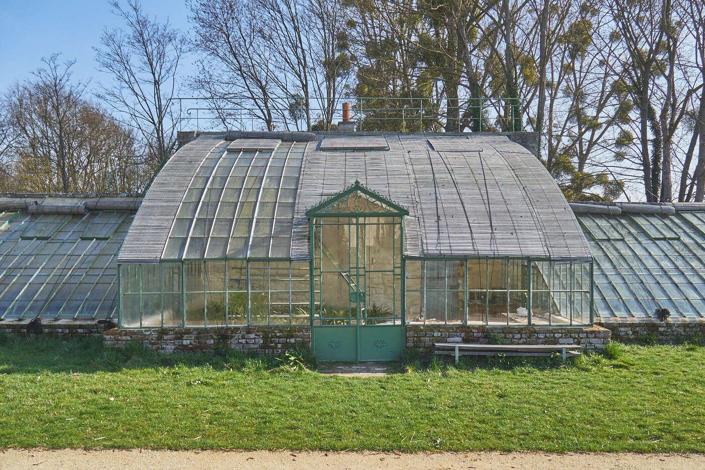 Jardin potager de l'abbaye de Royaumont