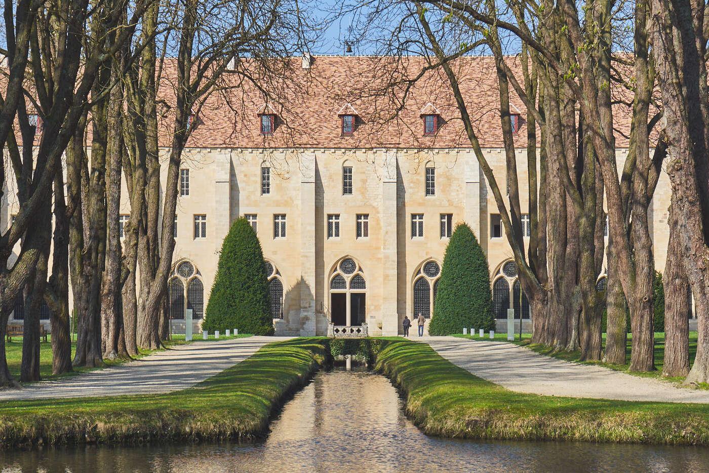 Canaux de l'abbaye de Royaumont