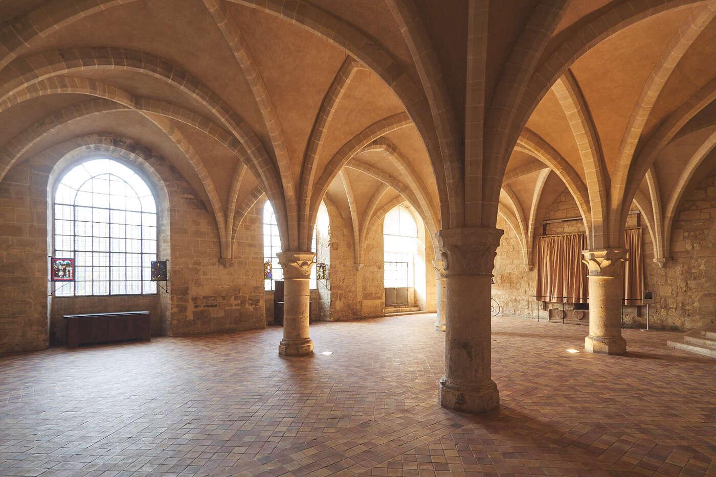 La cuisine des moines, abbaye de Royaumont