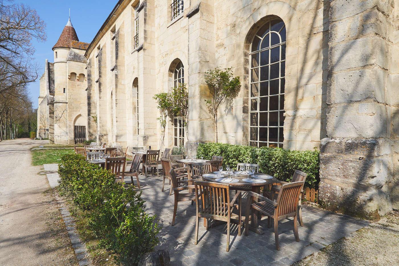 Restaurant de l'abbaye de Royaumont