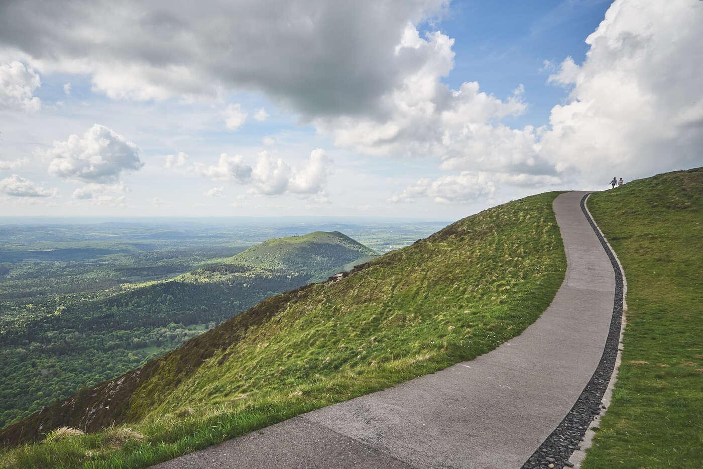 Chemin du Puy de Dôme