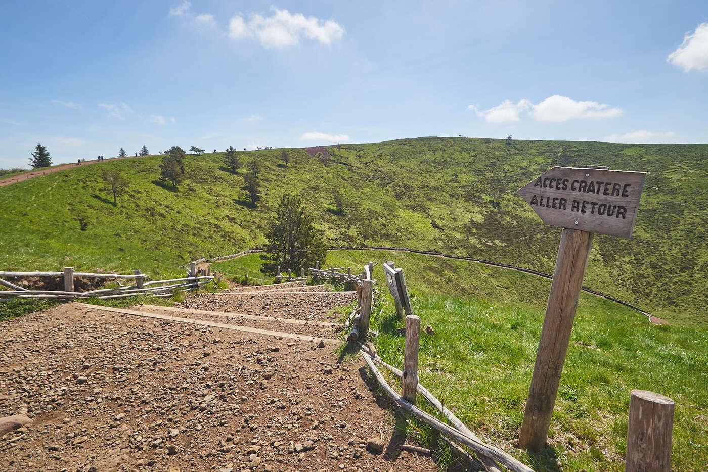 Sentier du cratère du Puy Pariou